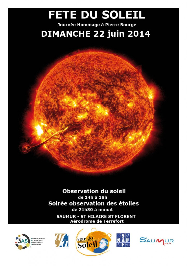 Affiche Fête du soleil
