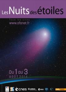 Affiche Nuit des étoiles 2013