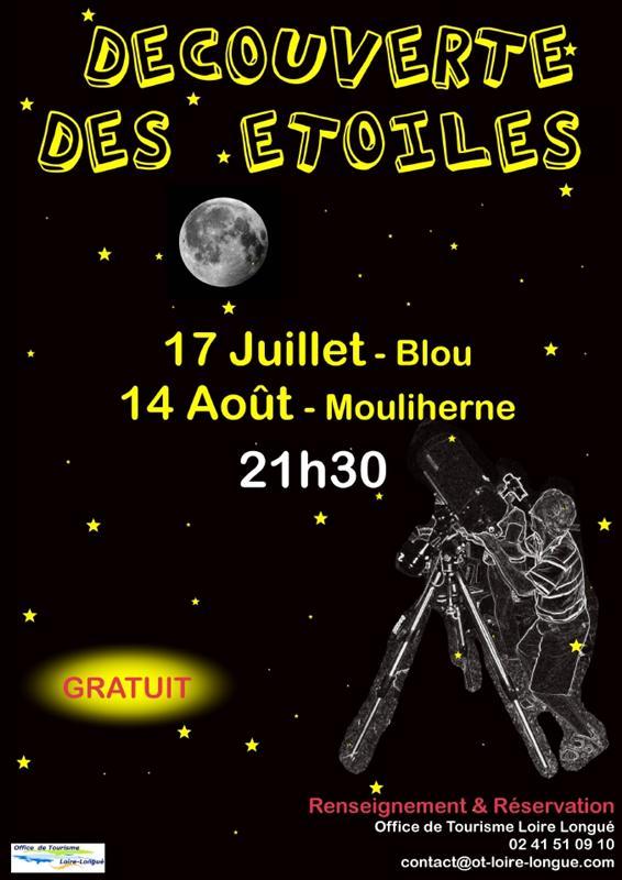 Affiche découverte des étoiles_OT Loire Longué