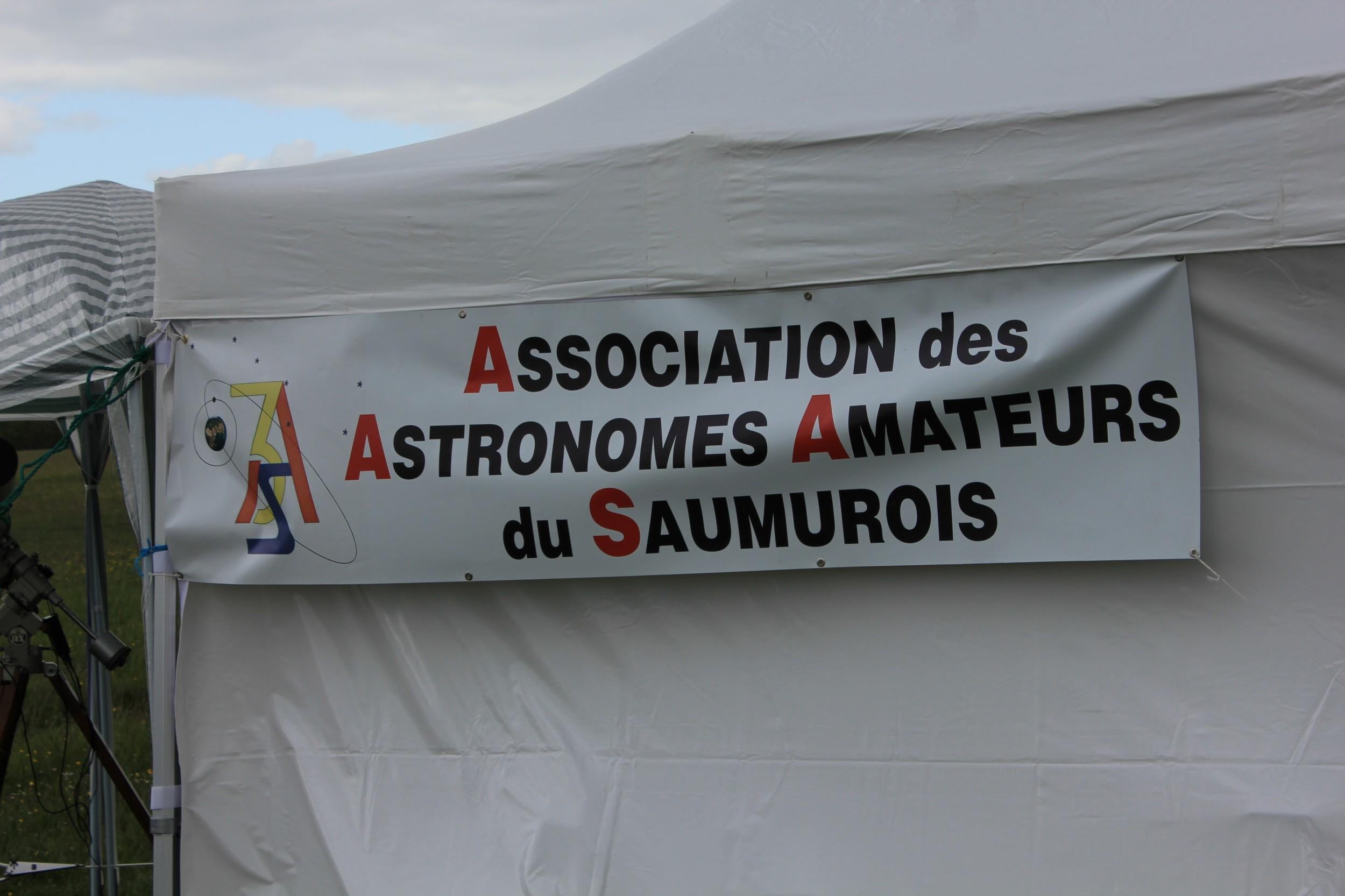 Bandeau Association des Astronomes Amateurs du Saumurois