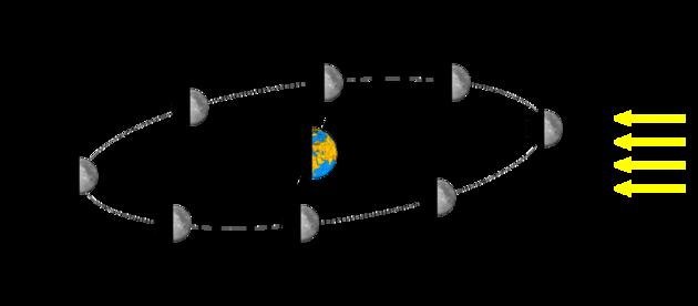 Terre Orbite Lune